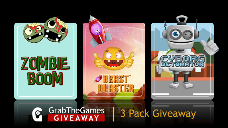 Free Steam Keys 3-Pack Beast Blaster, Cyborg Detonator, Zombie Boom <