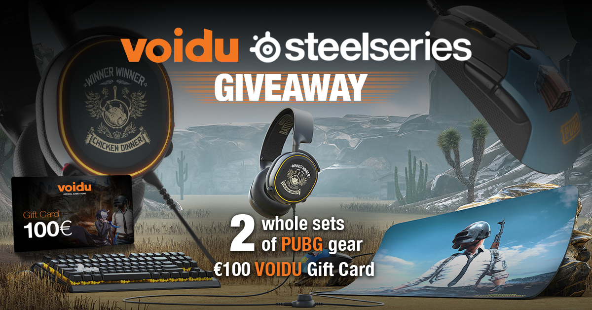 SteelSeries PUBG Gear Giveaway