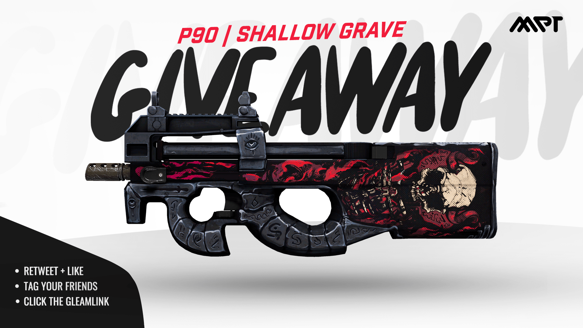 Factory New | P90 | Shallow Grave . Giveaway