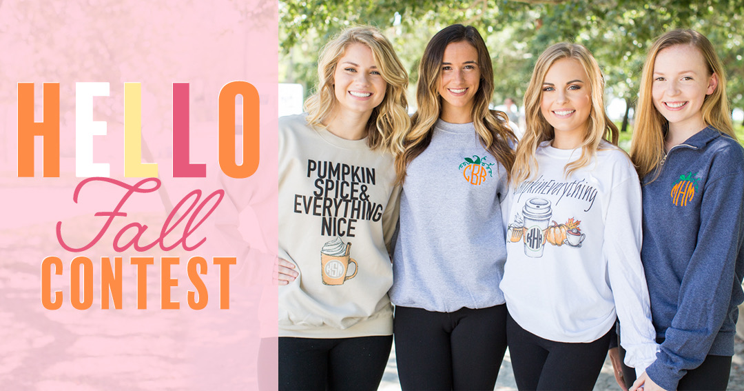Enter for a chance to win a $150 United Monograms Shopping Spree! 5 Winners! Giveaway Image