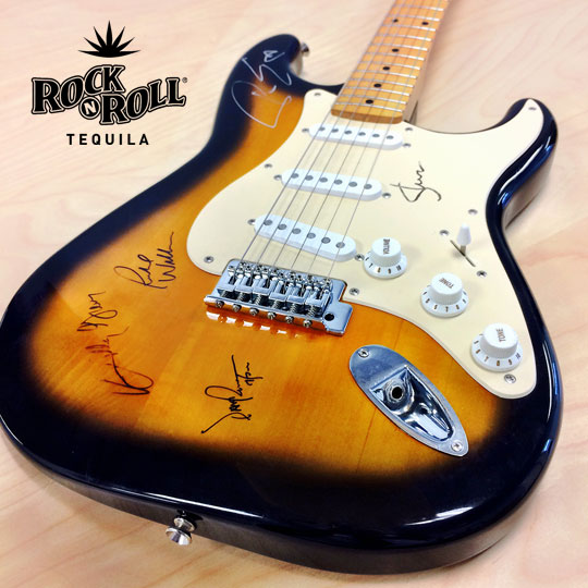 Win A Fender Guitar Signed By Kansas