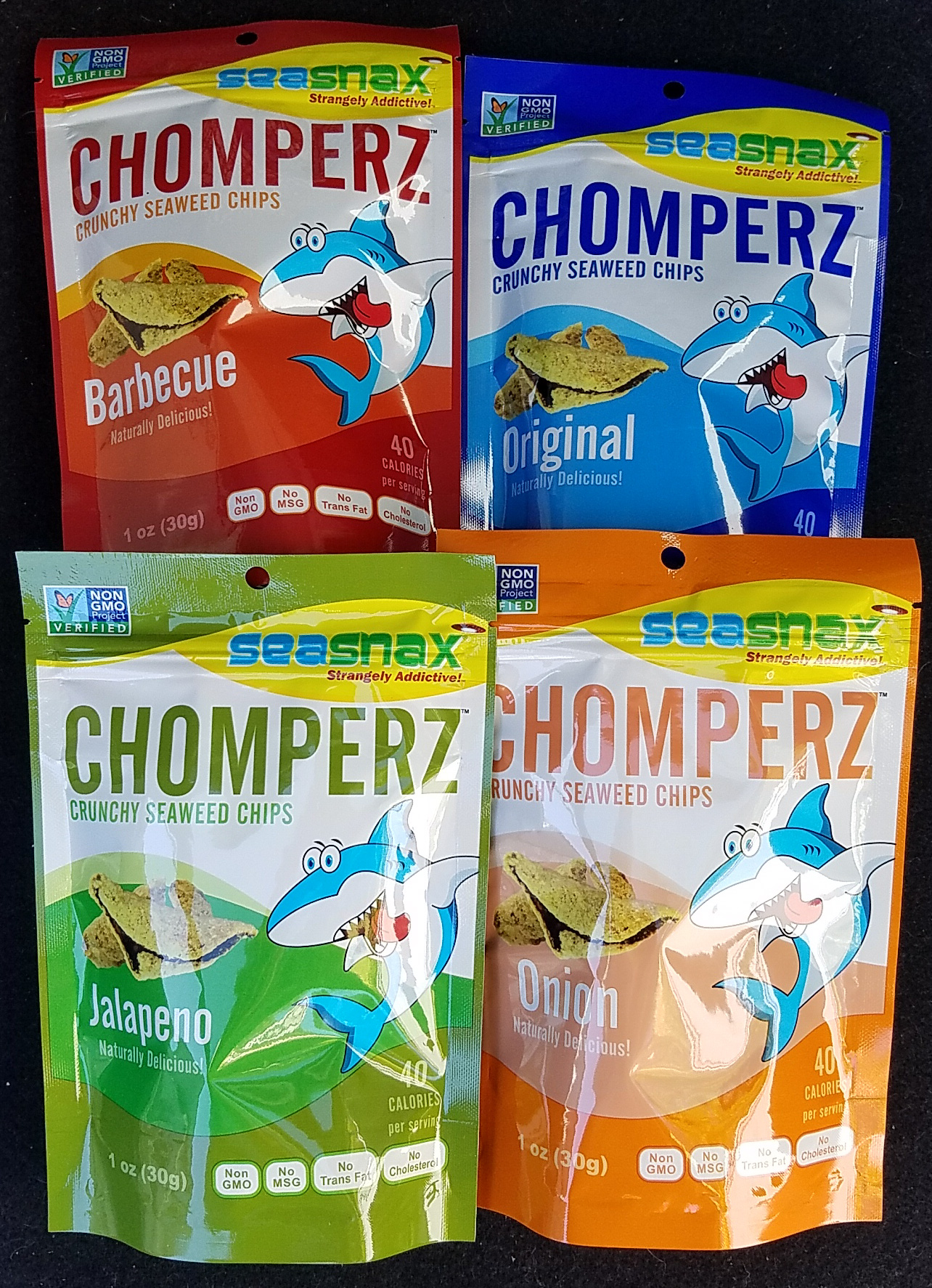 Win a Chomperz by SeaSnax Variety Pack
