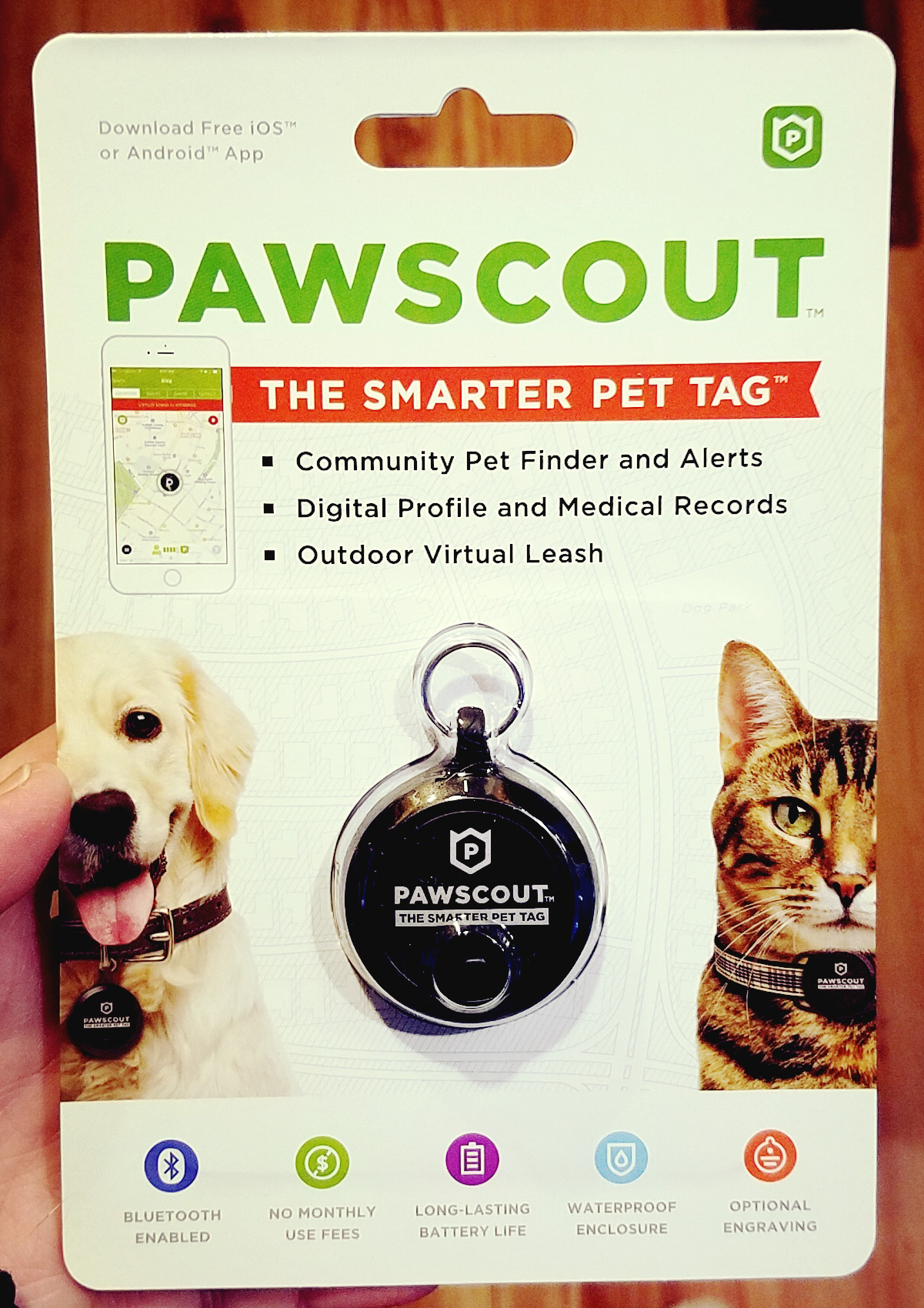 Win a Pawscout: The Smarter Pet Tag