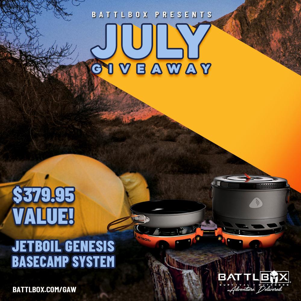 BattlBox July Giveaway - Worth $379.95! Giveaway Image