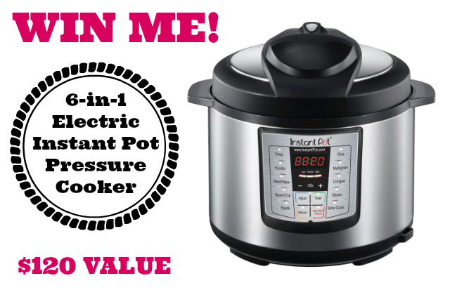 Low Carb with Jennifer Instant Pot LUX60 Giveaway!