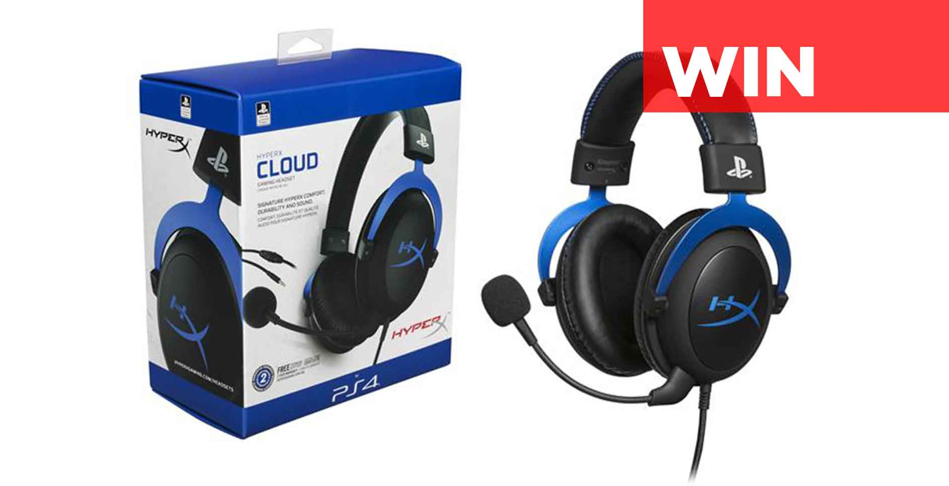 Win a HyperX Cloud Gaming Headset Giveaway Image