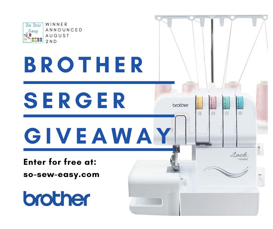 Brother 1034D Serger Giveaway Giveaway Image