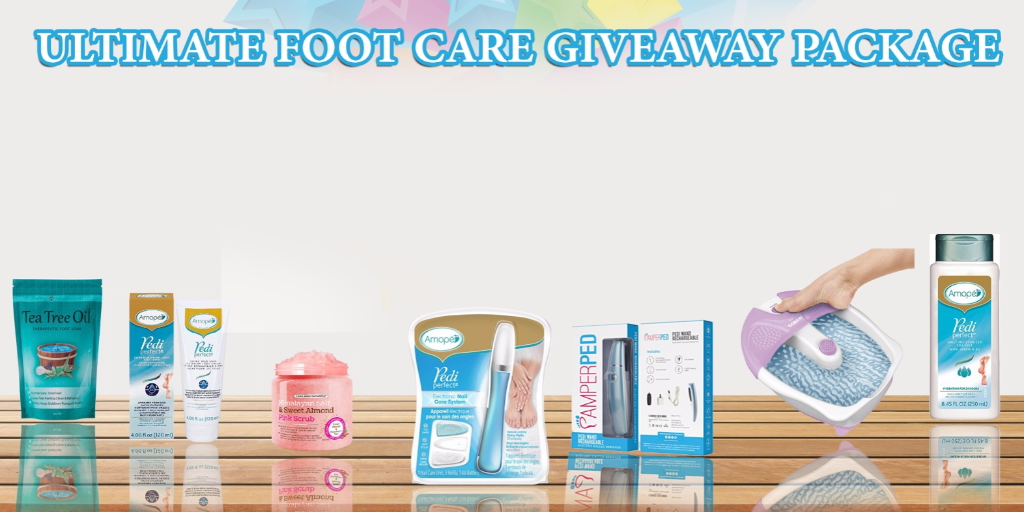 Pamperped Ultimate Foot Care Package Giveaway