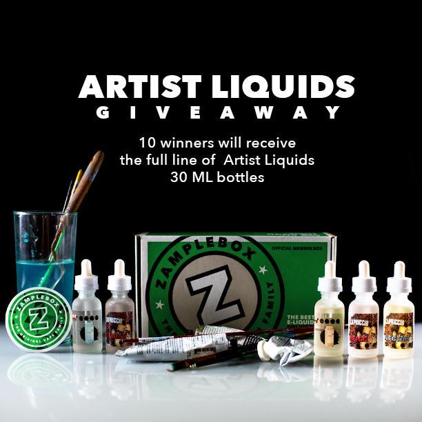 Win the full Artist Liquids Line in 30ml Bottles!