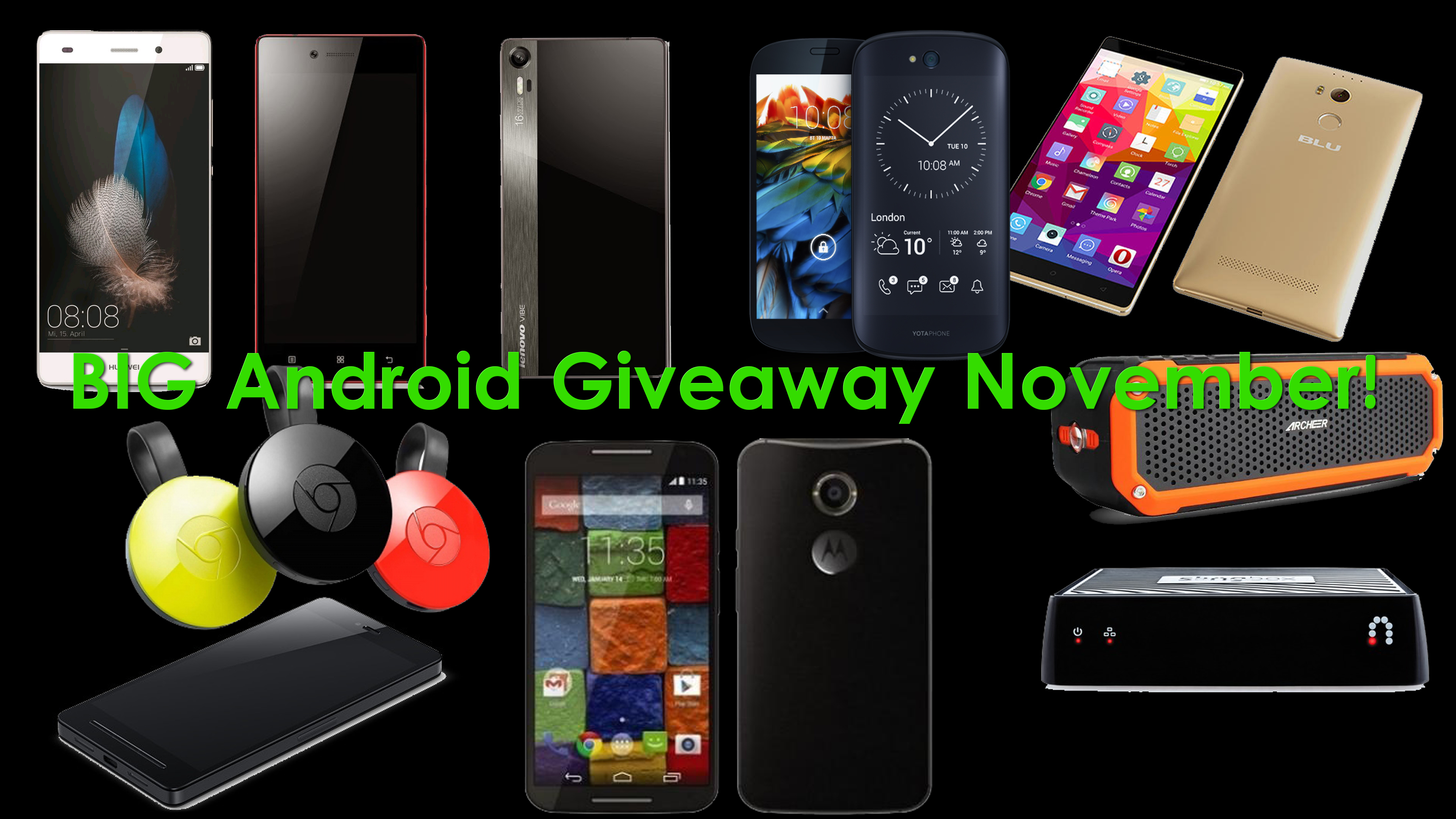 BIG Android November Giveaway!