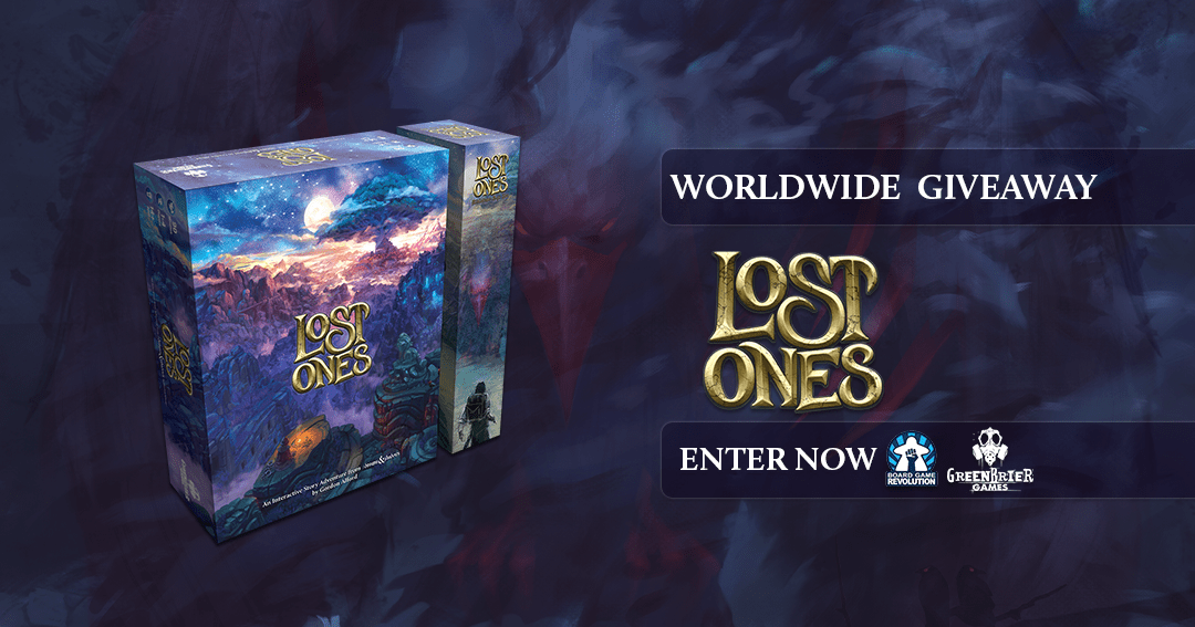 Enter to win a copy of the Board Game 'Lost Ones' Giveaway Image