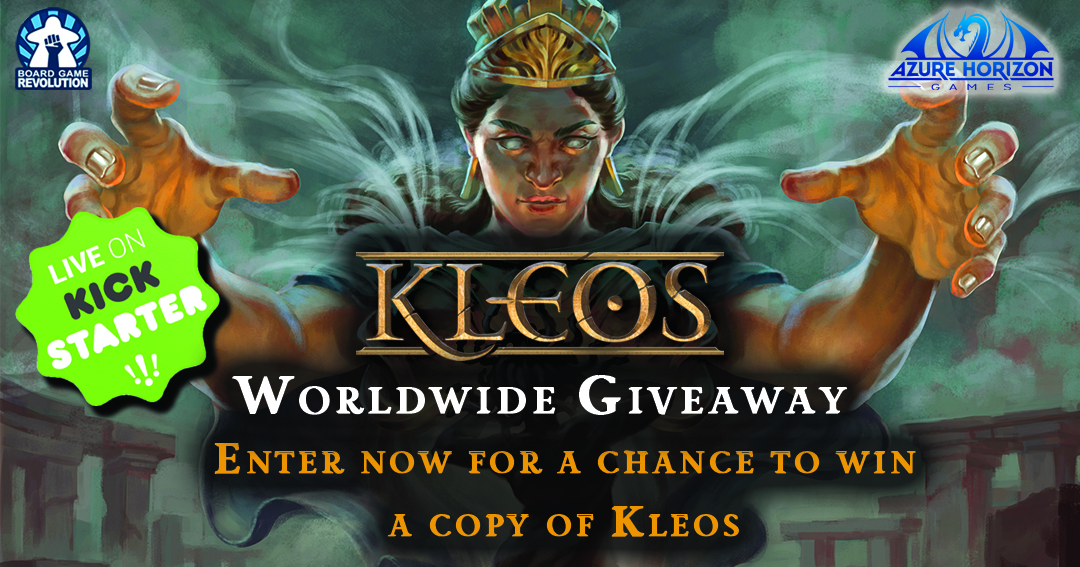 Win the board game Kleos Giveaway Image