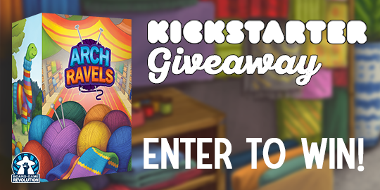 Arch Ravels| Worldwide Giveaway