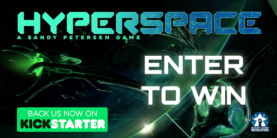 Hyperspace - Worldwide Kickstarter Giveaway (02/17/19 - 11 pm pst) Giveaway Image