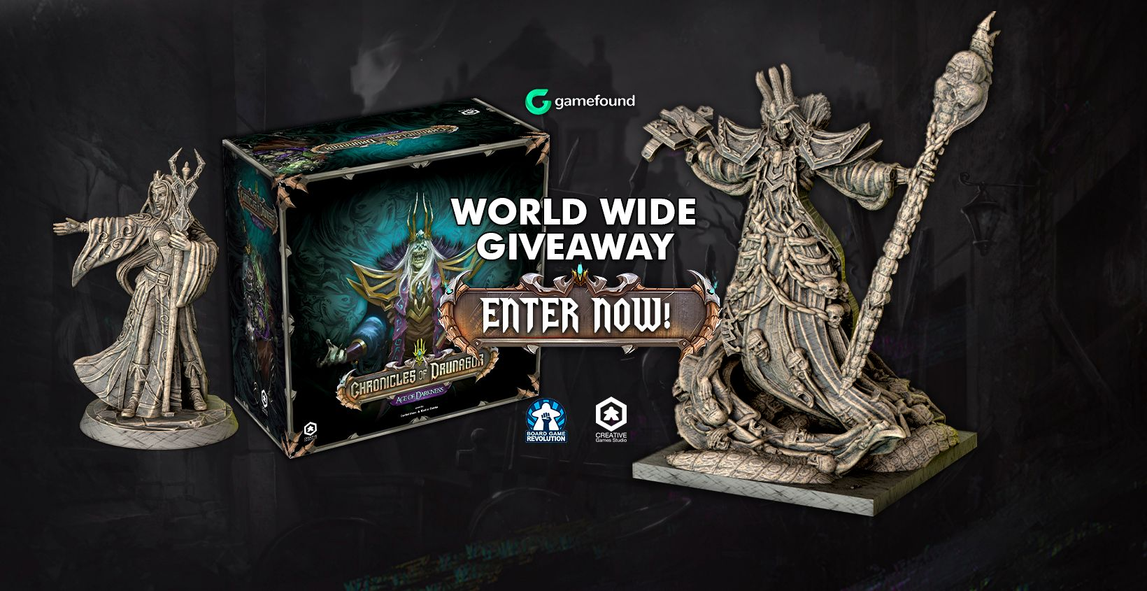 """Win """"Chronicles Of Drunagor: Age Of Darkness Apocalypse"""" Board Game (worth 95$) Giveaway Image"""