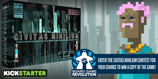 Win the board game Civitas Nihilium Giveaway Image