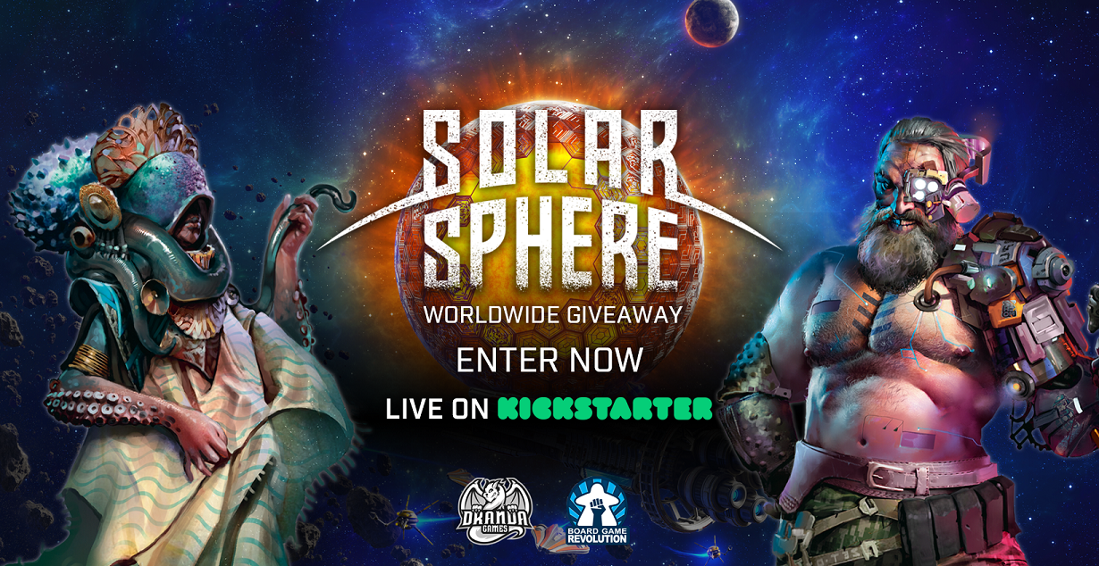 """Win """"Solar Sphere"""" Board Game (worth 33£) Giveaway Image"""