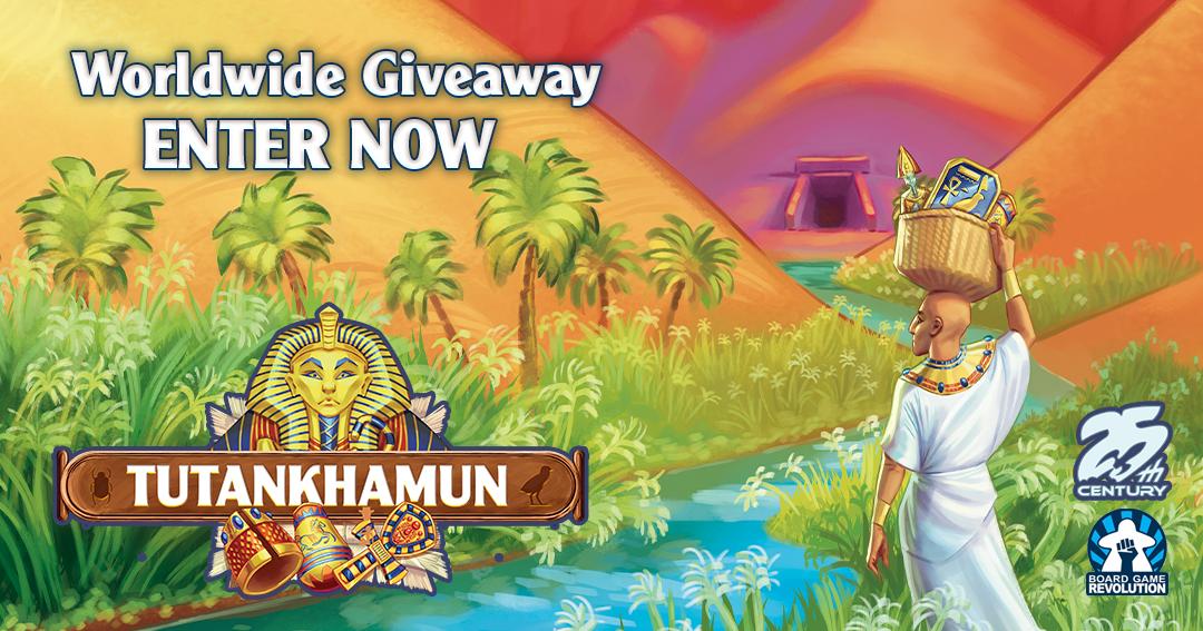 Win the board game Tutankhamun Giveaway Image