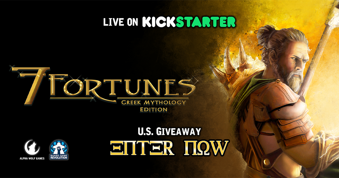 Win the board game 7 Fortunes Giveaway Image
