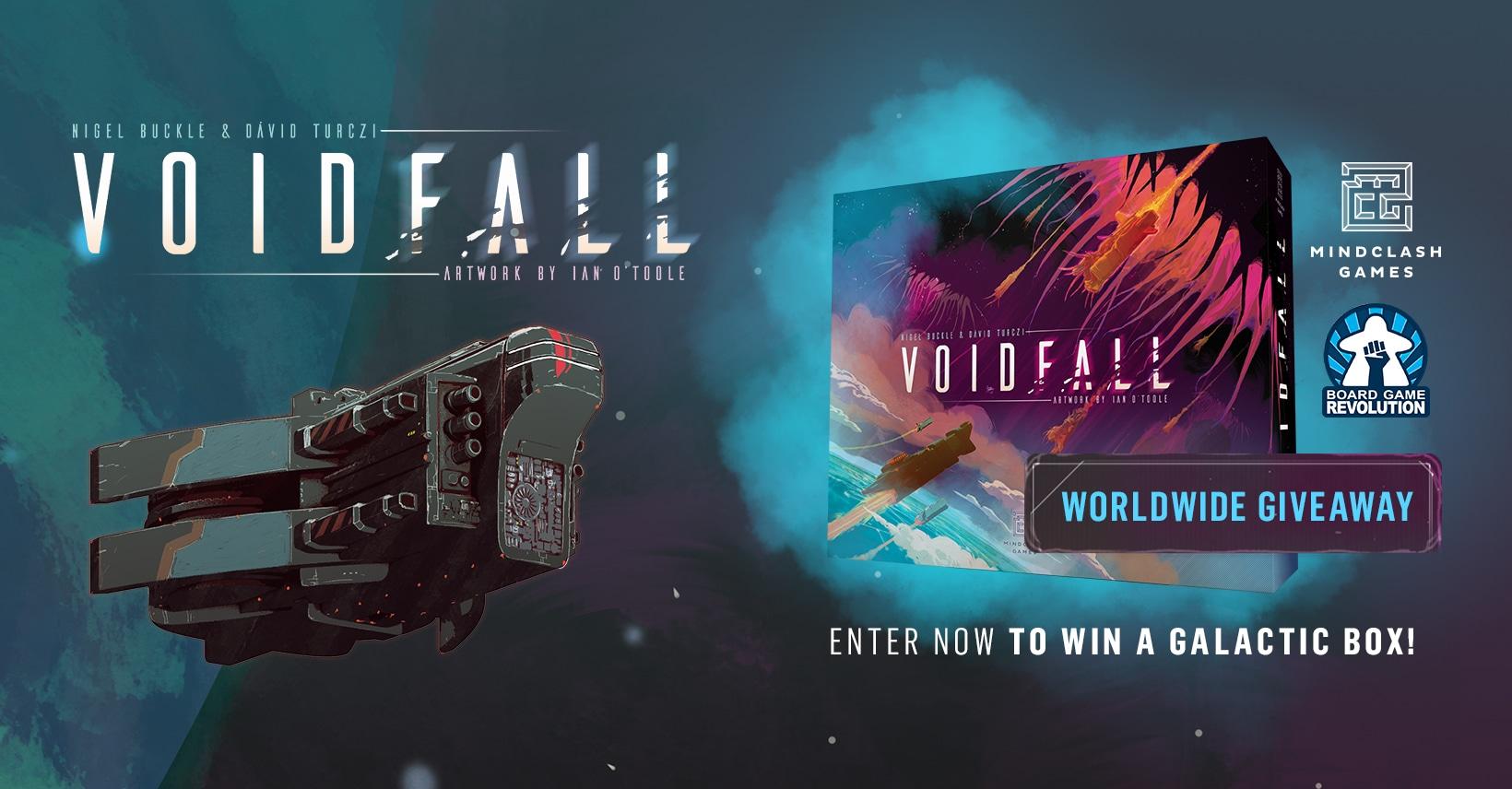 "Win ""Voidfall"" Sci-fi Tactical Board Game (worth 75�) Giveaway Image"