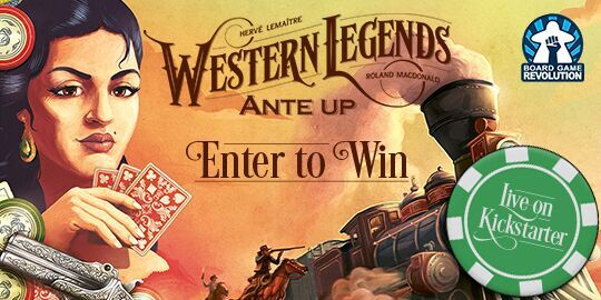 Win the board game Western Legends + Ante Up expansion Giveaway Image