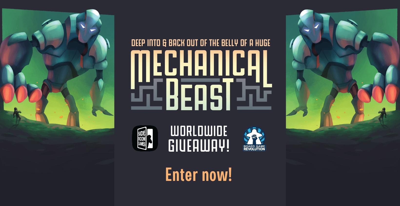 "Win ""Mechanical Beast"" Board Game (worth 24$) Giveaway Image"