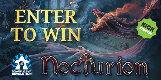 Win the board game Nocturion Giveaway Image