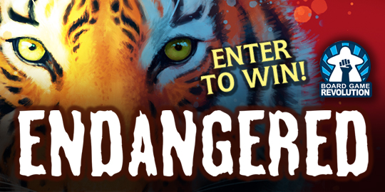 Win the board game Endangered   free shipping in US only Giveaway Image