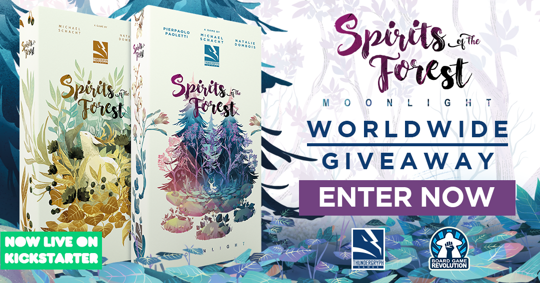 Win the board game Spirits of the Forest: Moonlight Giveaway Image