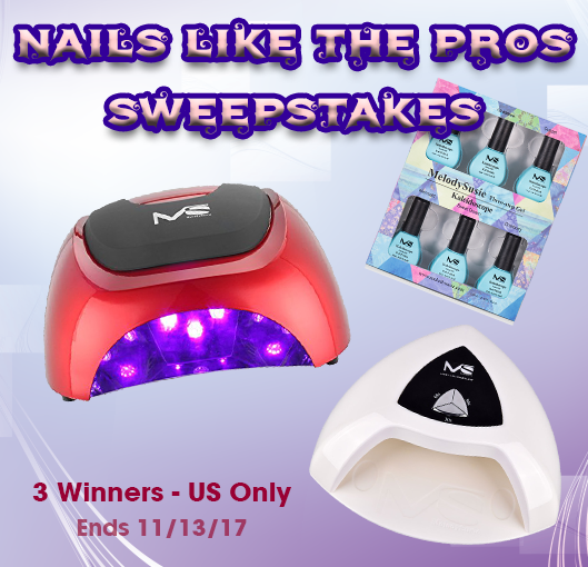 MelodySusie - Nails like the Pros Sweepstakes