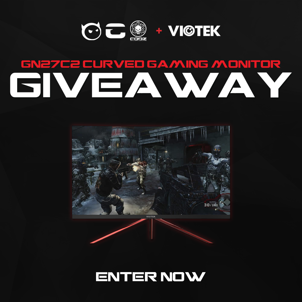 Win a Viotek GN24CB 24-Inch Curved Gaming Monitor 1080p 144hz VA Panel Giveaway Image