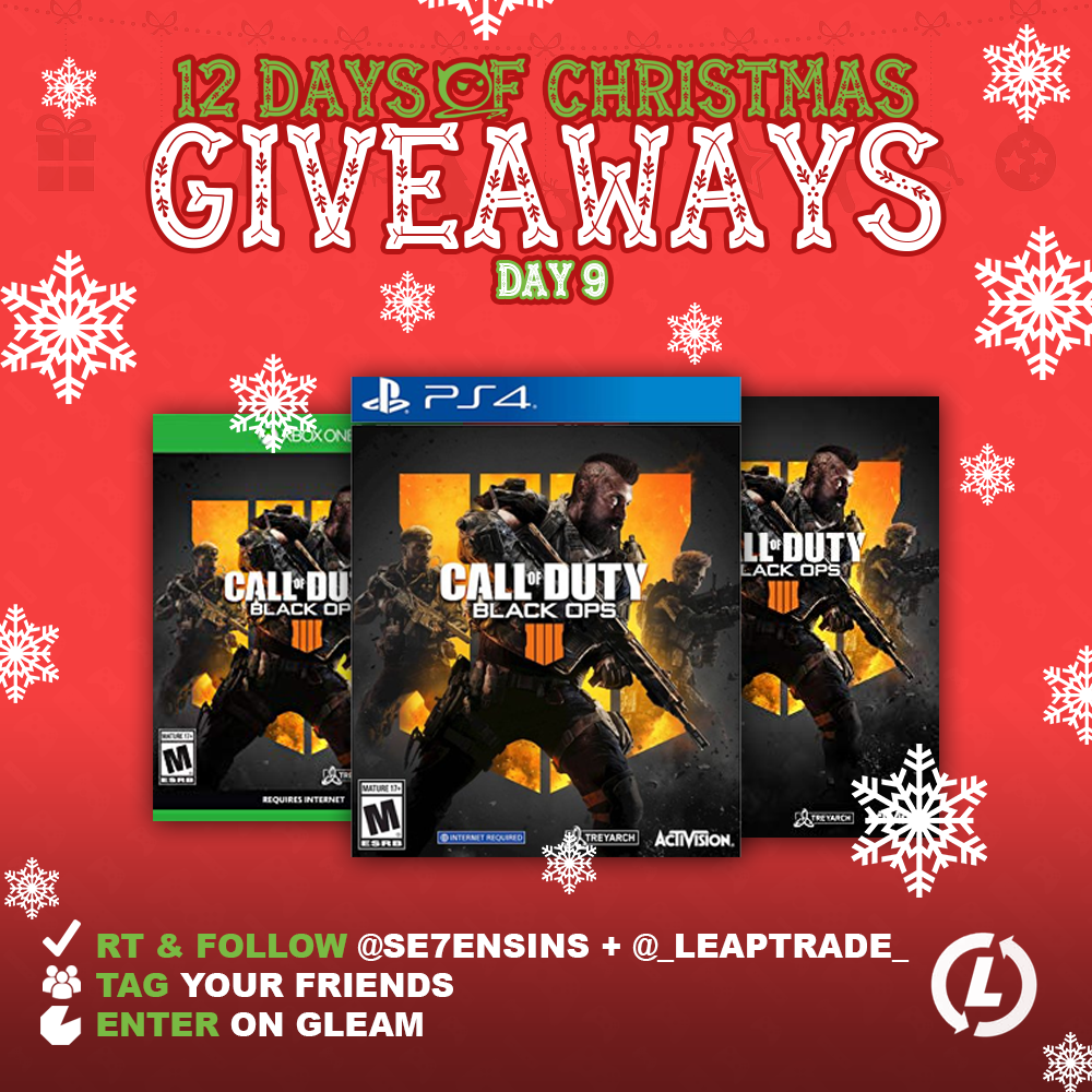 Call of Duty: Black Ops 4 PS4/Xbox/PC Giveaway Giveaway Image