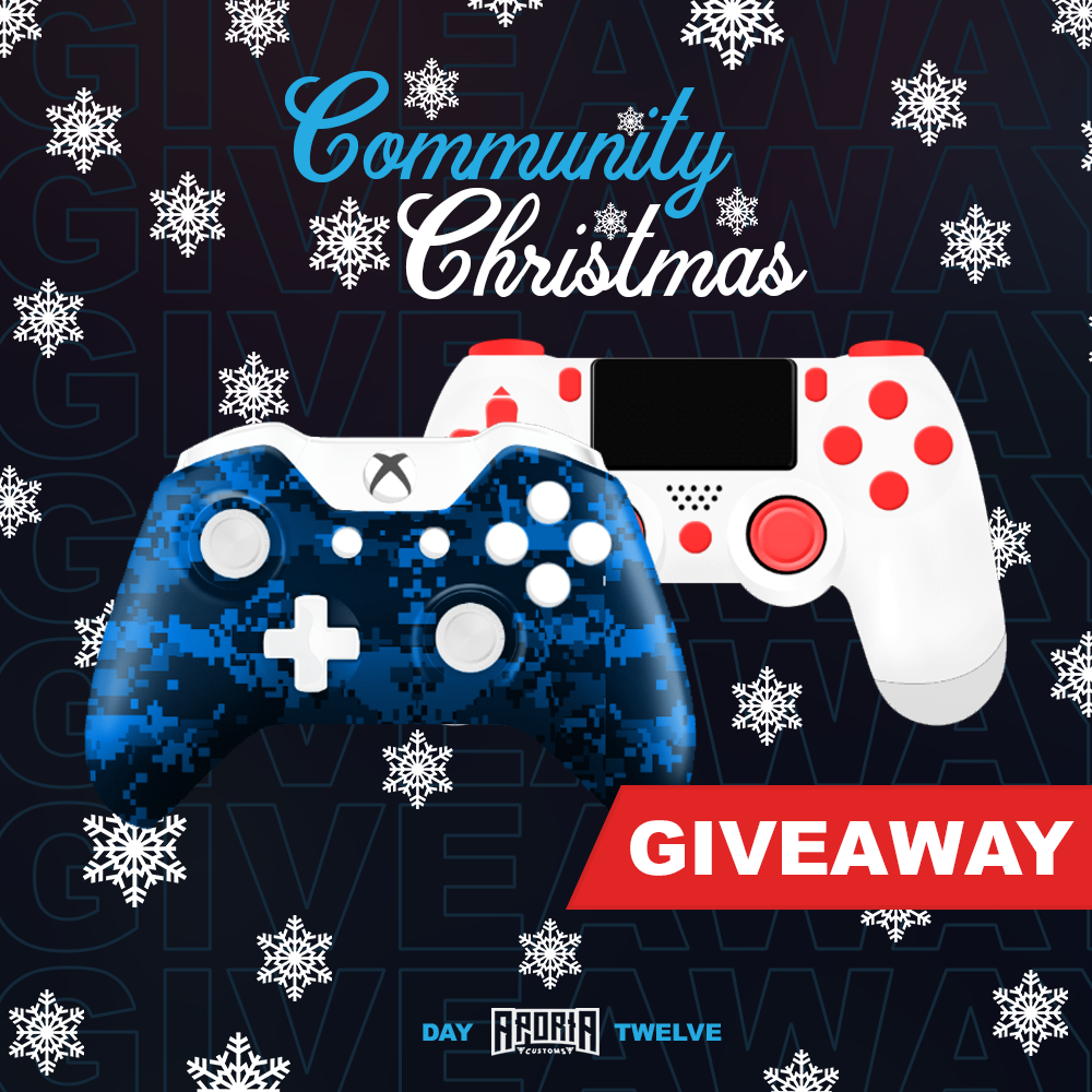 Custom Controller Giveaway by Aporia Customs Giveaway Image