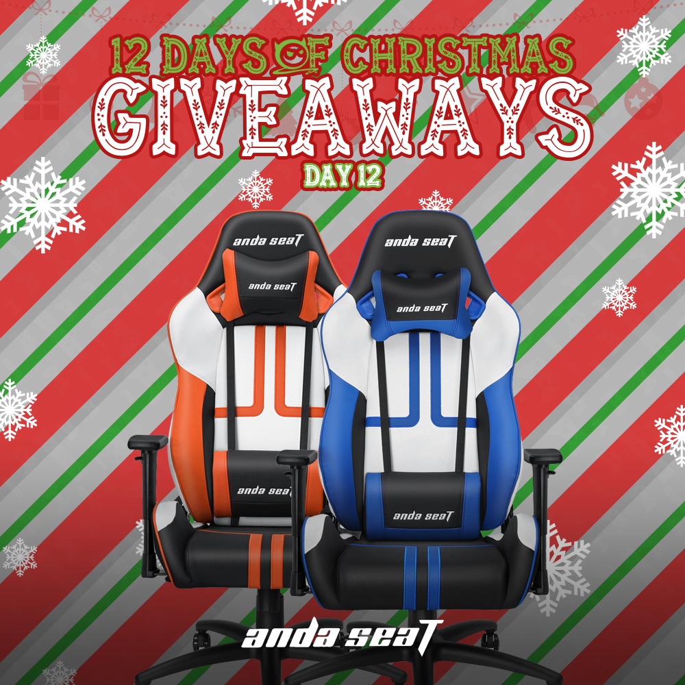 Anda Seat Gaming Chair Giveaway | Se7enSins Giveaway Image