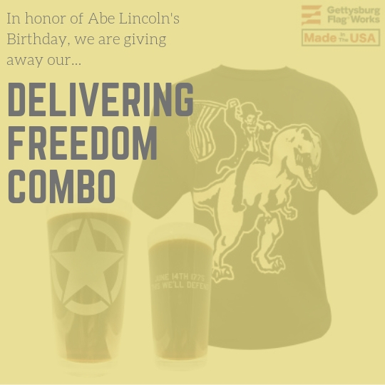 Win a Delivering Freedom Combo and a pint glass of your choice! Giveaway Image