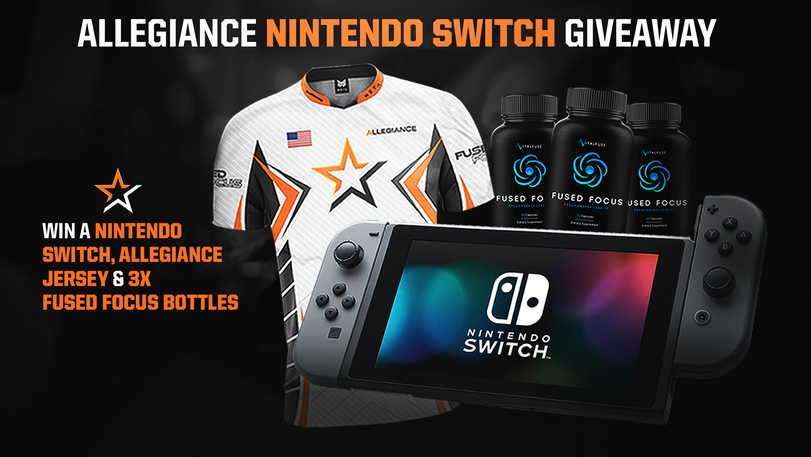 Allegiance Nintendo Switch Giveaway