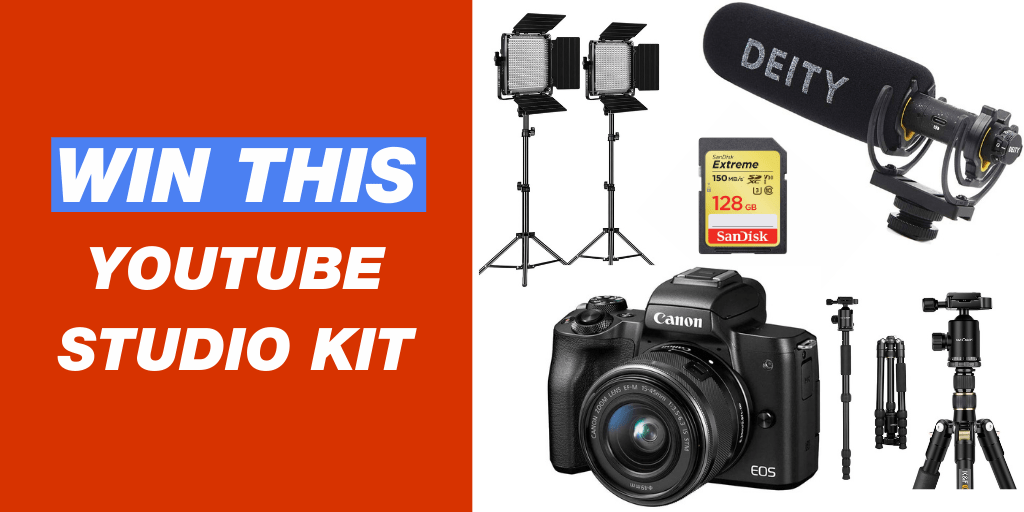 A Complete YouTube Studio Giveaway Image