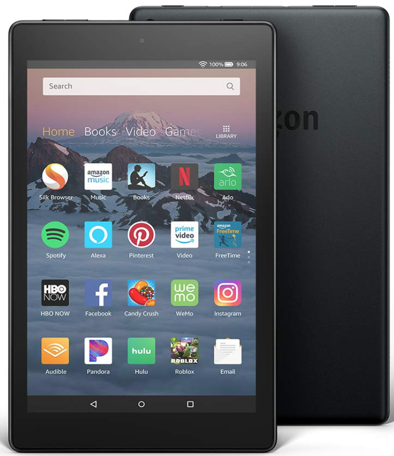 """Enter To Win A Fire HD 8 Tablet (8"""" HD Display, 16 GB) - Black"""
