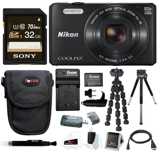 Enter To Win A Nikon Coolpix S7000 Camera + Kit