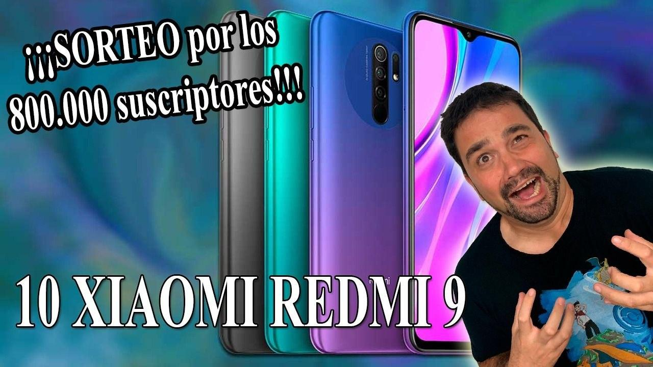 10x Xiaomi Redmi 9 Keibron Gamer Giveaway Image