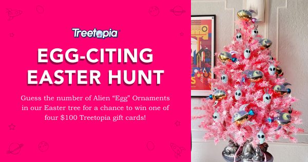Enter to win a $100 Treetopia Gift Card. 4 Winners! Giveaway Image