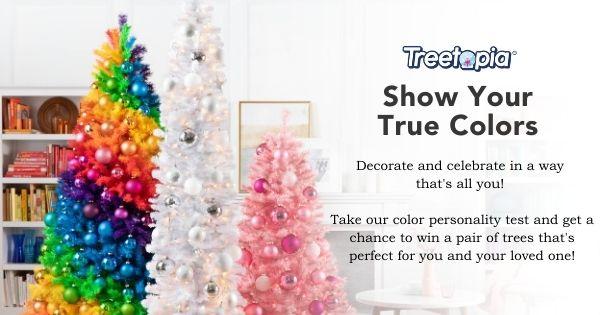 Show Your True Colors: Treetopia's Secret Santa Giveaway Giveaway Image