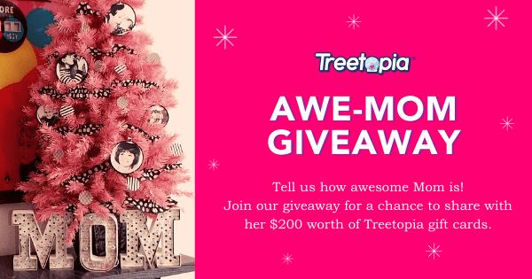 Treetopia's Awe-mom Giveaway Giveaway Image