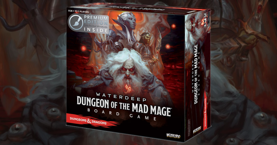 Win the board game Waterdeep: Dungeon of the Mad Mage Giveaway Image