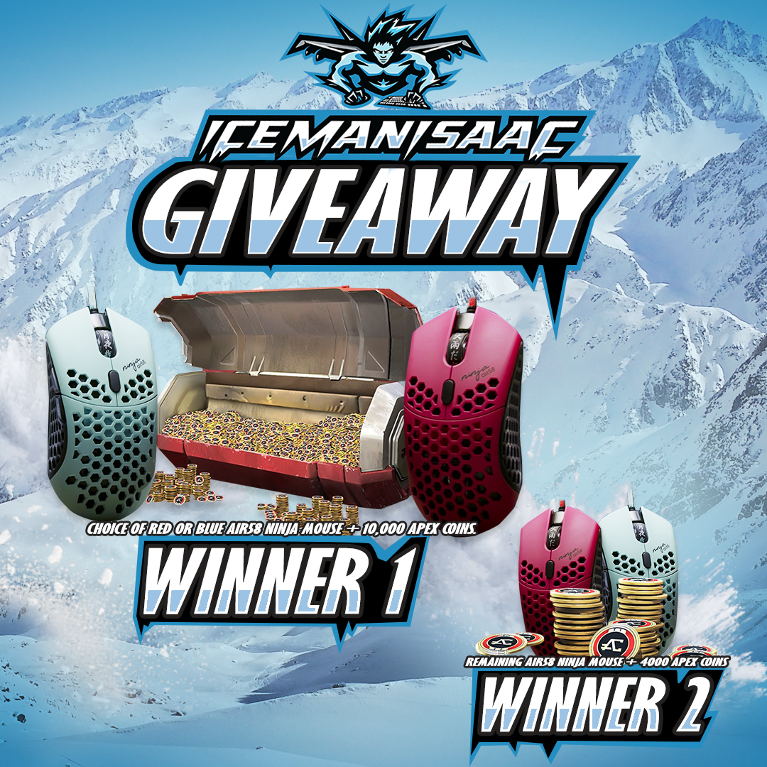 Finalmouse Air58 Ninja Mouse, & Apex Coins Giveaway
