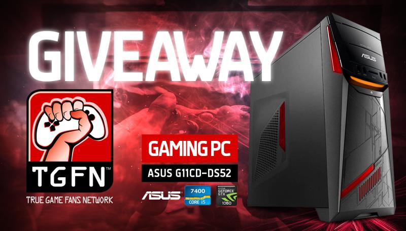 ASUS G11CD Gaming PC Giveaway