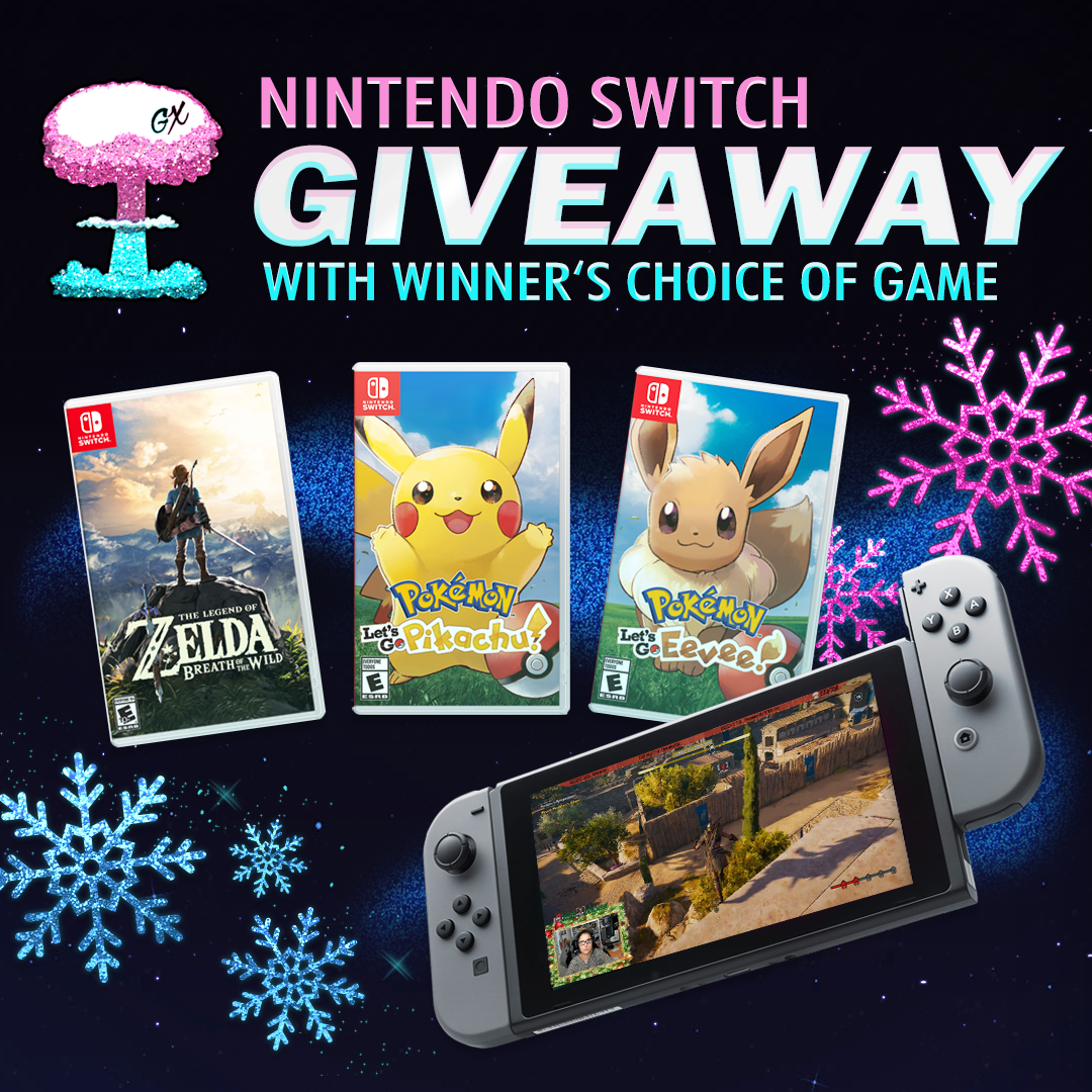 Nintendo Switch & Game Of Choice Giveaway Giveaway Image