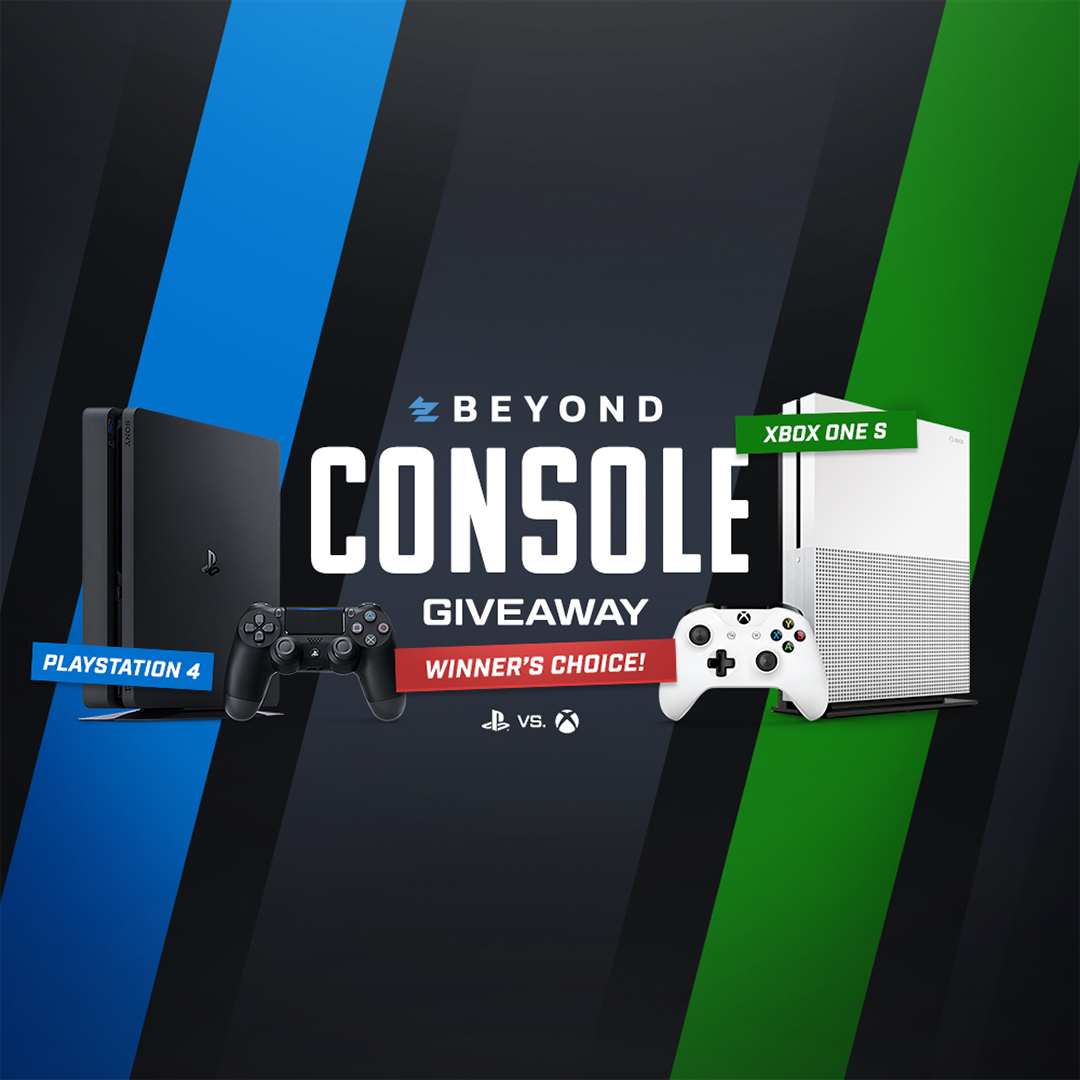 Winner's Choice Console Giveaway Giveaway Image
