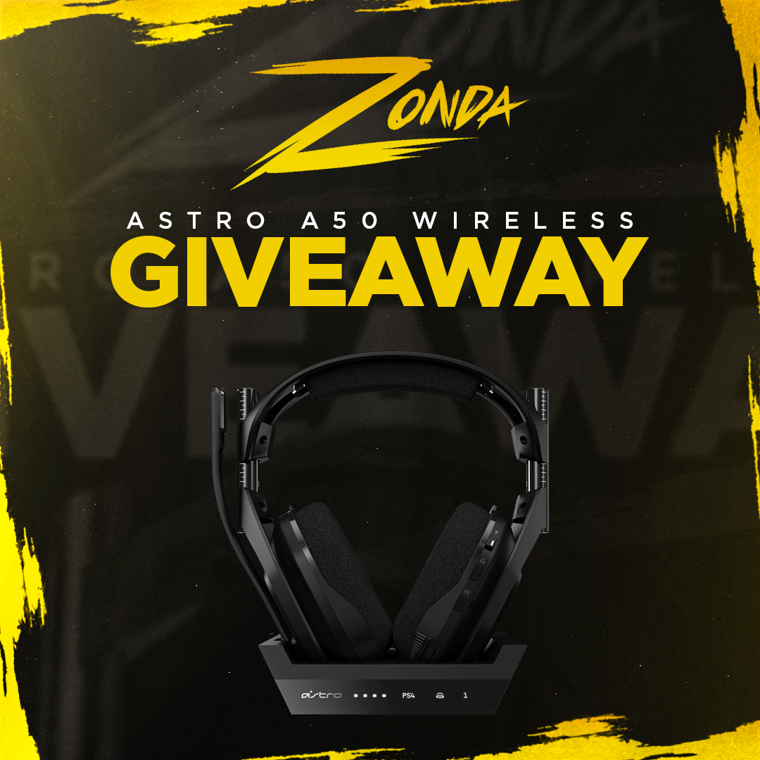 ASTRO A50 Wireless Headset & Base Station Gen 4 Giveaway Giveaway Image