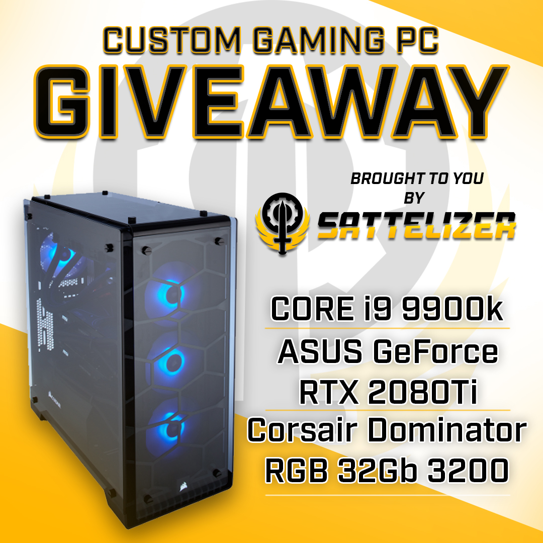 SattelzerGames Custom Gaming PC Giveaway